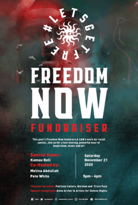 Freedom Now Flyer