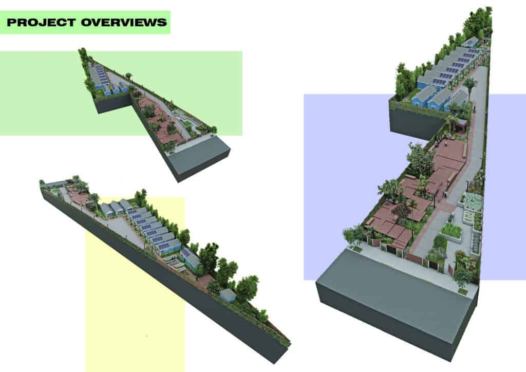 Site plan for EcoHood
