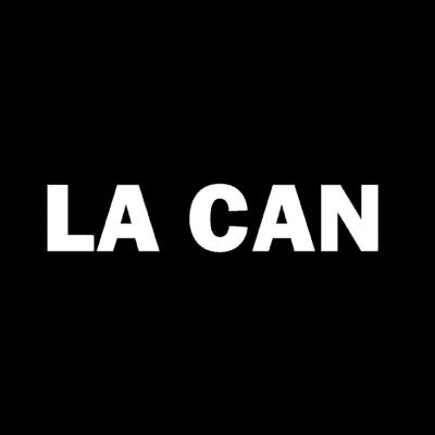 LA CAN Logo Solid Black